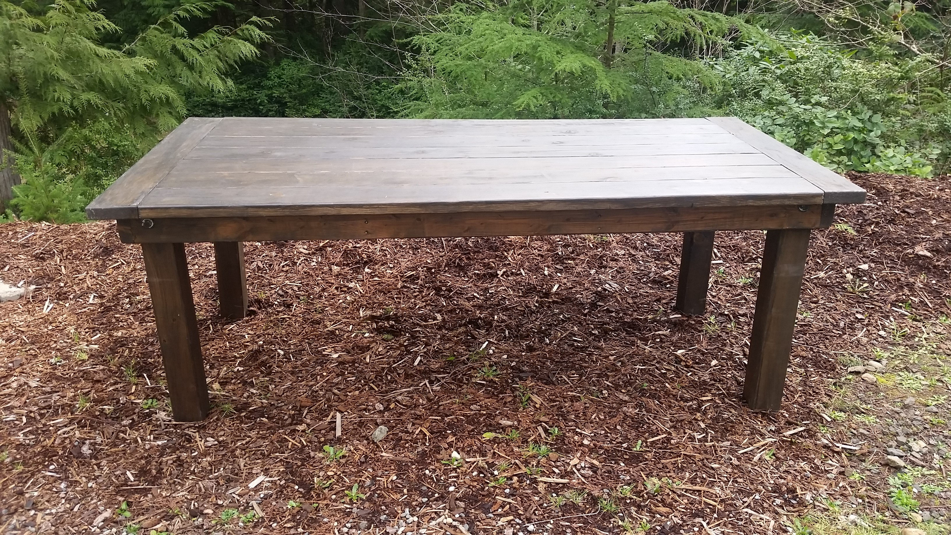 $45 4u2032 Rustic Farm Table